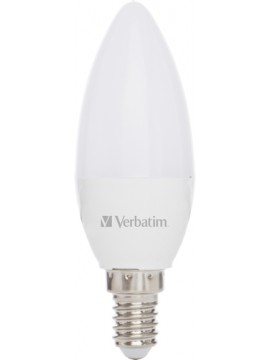 VERBATIM LED CANDLE E14 3.1W-35W ND 2700K 350LM FROST