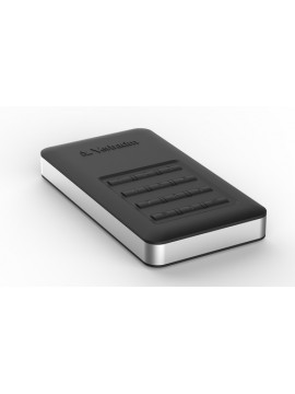 VERBATIM HDD EXT 1TB USB3.1 GEN1 STORENGO CRITTOGRAFATO ACCESSO CON TASTIERINO NUMERICO AES 256BIT