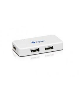 DIGICOM HUB MINI 4 PORTE USB2.0 BIANCO