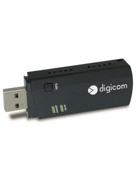 DIGICOM ADATTATORE USB WIRELESS AC600 DUALBAND WPS