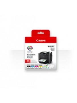 CANON CART. INK MULTICOLOR (BK + C + Y + M) PGI-2500XL PER MAXIFY MB4050, MB5050, MB5350
