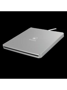 ATLANTIS MASTERIZZATORE ESTERNO ULTRASLIM USB 3.0 DVD-RW DUAL LAYER 8X ARGENTO