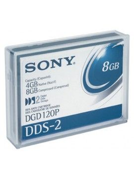 SONY CARTUCCIA DAT 4GB/8GB COMPRESSED 4MM 120M DDS2 5,4X7,3 X1 CM