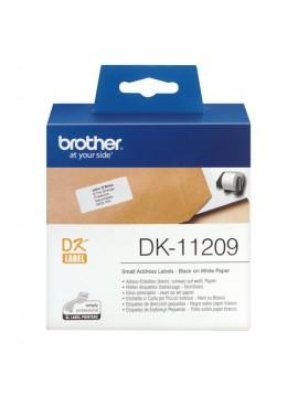 BROTHER DK-11209 ETICHETTE ADESIVE 800 ETICHETTE / ROTOLO - 29mmX