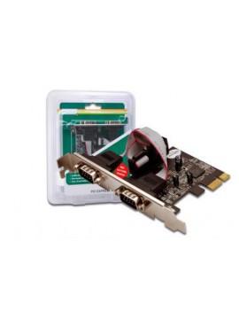 DIGITUS SCHEDA PCI EXPRESS CON 2PORTE SERIALI 9 POLI