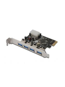 DIGITUS SCHEDA PCI-E 4 PORTE USB 3.0