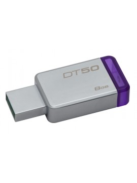 KINGSTON PEN DISK 8GB USB3.1 DATATRAVELER 50 METAL CASE