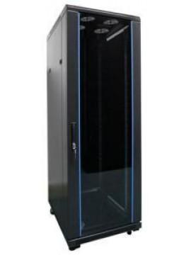 TECNOWARE ARMADIO RACK SERIE FLOOR PRO 19 24 UNITA,  L600XP600XH1300, SMONTATO GRADO DI PROTEZIONE IP20,