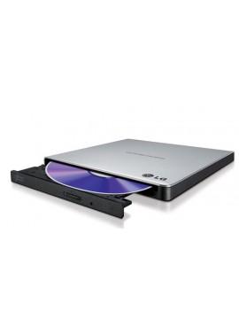 LG MASTERIZZATORE ESTERNO DVD ULTRASLIM PORTABLE USB SILVER