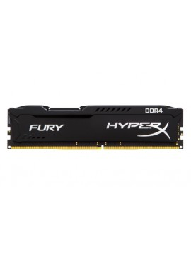 KINGSTON RAM HYPERX FURY DIMM 4GB DDR4 2133MHZ CL14 BLACK