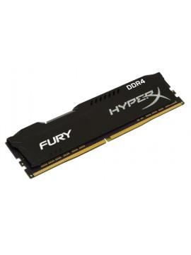 KINGSTON RAM HYPERX FURY DIMM 4GB DDR4 2400MHZ CL15 BLACK
