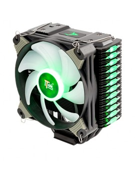 ITEK DISSIPATORE CPU BELZER RGB - SOCKET UNIVERSALE, 4 HEATPIPE, VENTOLA 120MM LED RGB, 4PIN PWM, TELECOMANDO