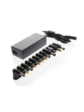 ITEK ALIMENTATORE UNIVERSALE PER NOTEBOOK 90W CON 12 CONNETTORI, 100/240VAC, 15/24VDC, PORTA USB