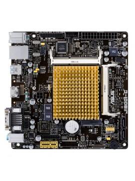 ASUS MB M-ATX CPU INTEL J1800 HDMI VGA GIGALAN
