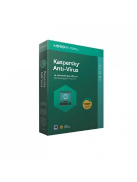 KASPERSKY ANTIVIRUS 1 USER 1 YEAR