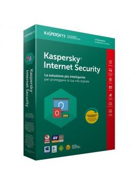 KASPERSKY INTERNET SECURITY 1 USER ATTACH DEAL  1 YEAR (DA VENDERE SOLO IN ABBINAMENTO A PC/NB)