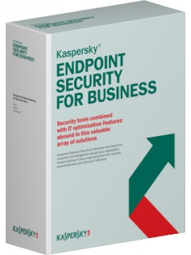 KASPERSKY ENDPOINT SECURITY FOR BUSINESS - SELECT LICENSE BAND K: 10-14 EDUCATIONAL RENEWAL 1 YEAR