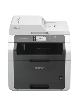 BROTHER MULTIF. LASER MFC-9140CDN COLORI A4 22PPM 600X2400DPI FRONTE/RETRO ADF 35FF DISPLAY TOUCHSCREEN USB/ETHERNET STAMPANTE SCANNER COPIATRICE FAX