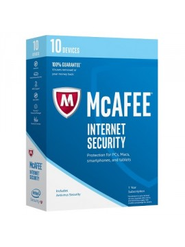 MCAFEE 2017 INTERNET SECURITY 10 DEVICE