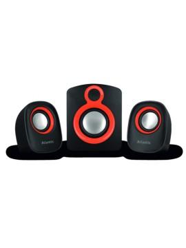 ATLANTIS SPEAKER SOUNDMASTER 900 KIT 2.1 CASSE + SUBWOOFER CON REGOLATORE VOLUME