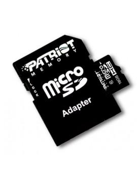 PATRIOT SDHC MICRO 16GB CLASSE 10 + ADATTATORE