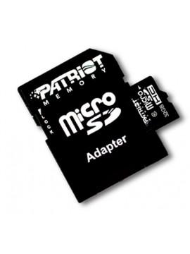 PATRIOT SDHC MICRO 32GB CLASSE 10 + ADATTATORE
