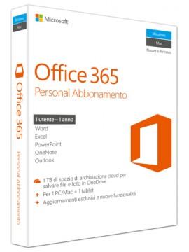 MICROSOFT OFFICE 365 PERSONAL 32-BIT/X64 ITA SUBSCRIPTION 1YR