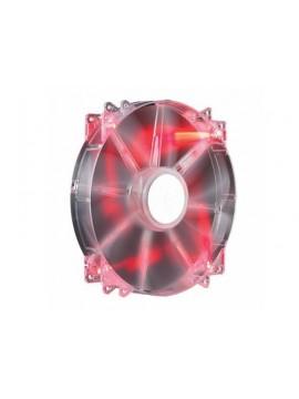 COOLER MASTER VENTOLA PC MEGAFLOW 200MM  RED LED, 700RPM, RIFLE BEARING
