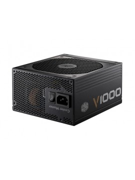 COOLER MASTER ALIMENTATORE V SERIES 1000W 80PLUS GOLD W/135MM FAN, SINGAL 12V RAIL, FULL MODULAR, EU CABLE