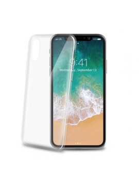 CELLY COVER IPHONE X TRASPARENTE