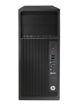 HP PC WKS Z240 I7-7700 8GB 256GB SSD DVD-RW WIN 10 PRO